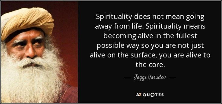 quote-spirituality-does-not-mean-going-away-from-life-spirituality-means-becoming-alive-in-jaggi-vasudev-112-7-0788