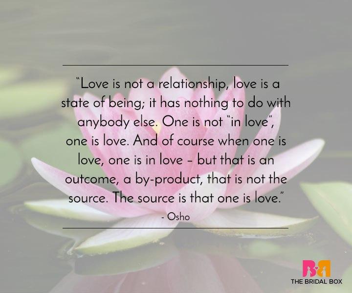 Love quote Osho